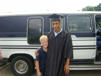 nick and hunter-grad