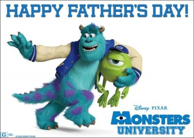 Father's Day monsters inc