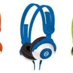 Kidz Gear Headphones Pink-Orange-Blue-Green-Purple