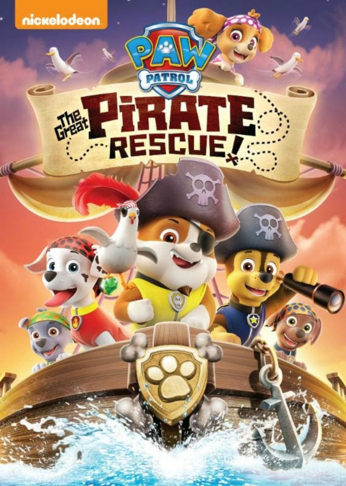 paw patrol pirate rescue