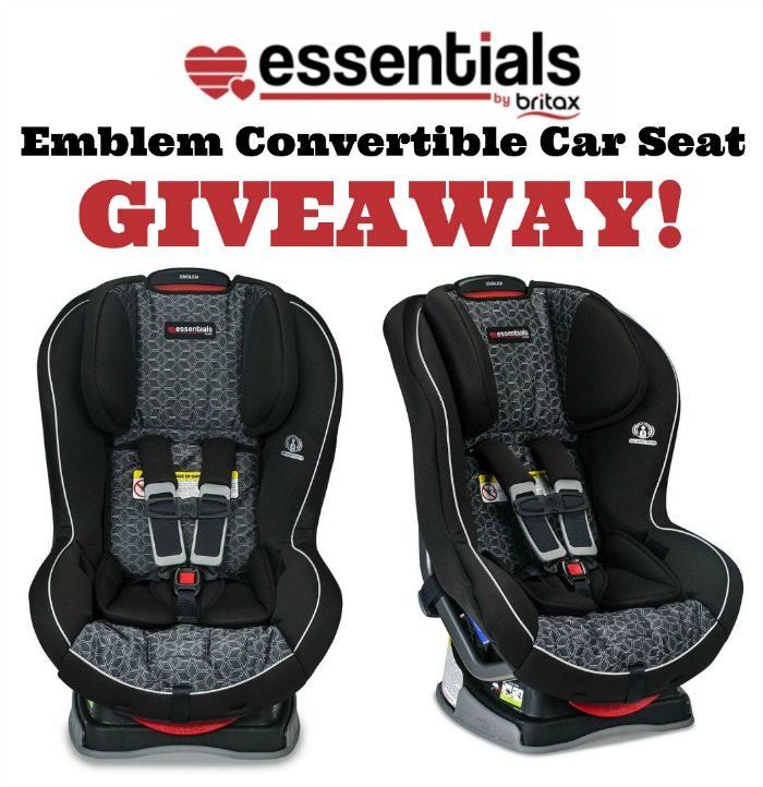 Britax Emblem Car Seat Giveaway, Car Seat Giveaway 2018